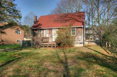 South Kingstown Single Family Home Act Und Contract: 160 Balsam Rd