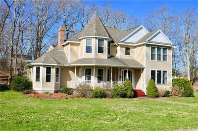 Westerly Single Family Home Act Und Contract: 28 Piezzo Dr