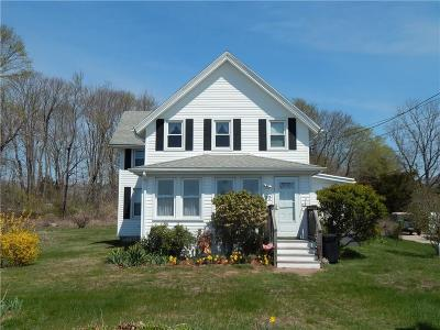 Westerly Single Family Home Act Und Contract: 23 Washington Av
