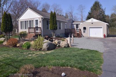 South Kingstown Single Family Home Act Und Contract: 57 Auburn Rd