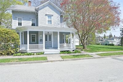 East Greenwich Single Family Home For Sale: 12 Pearl St