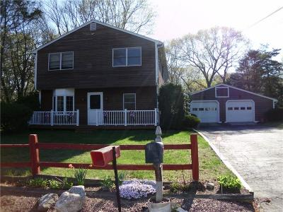 Scituate Single Family Home For Sale: 686 Tunk Hill Rd