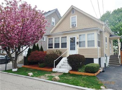 East Providence Single Family Home Act Und Contract: 78 Ingraham St
