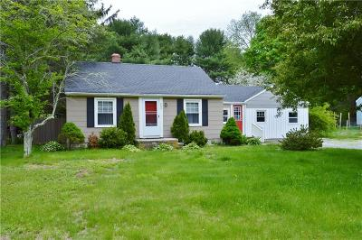 Richmond RI Single Family Home For Sale: $199,900