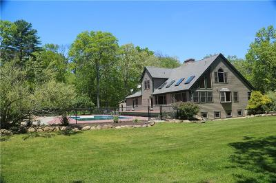 Hopkinton RI Single Family Home Pending: $549,900