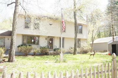 Burrillville Single Family Home Act Und Contract: 686 Reservoir Rd