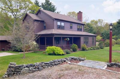 Washington County Single Family Home Act Und Contract: 36 Wood Rd