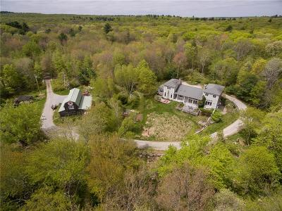 Glocester Single Family Home For Sale: 106 Huntinghouse Rd