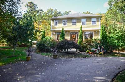 Smithfield Single Family Home For Sale: 128 Log Rd