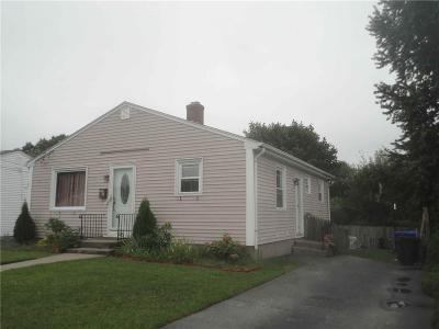 Pawtucket Single Family Home For Sale: 45 Rocco Av
