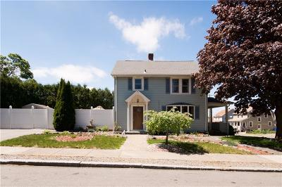 East Providence Single Family Home Act Und Contract: 43 6th St
