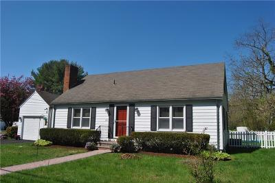 Bristol County Single Family Home For Sale: 1191 Hope St