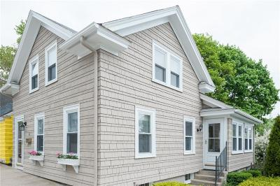 East Greenwich Single Family Home For Sale: 42 Marlborough St