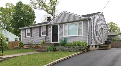 Coventry Single Family Home For Sale: 96 Yale Dr