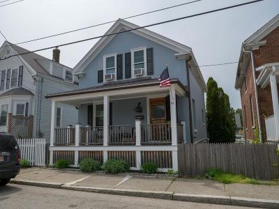 Newport Single Family Home For Sale: 61 Marchant St
