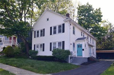 Providence County Multi Family Home For Sale: 55 Taft Av