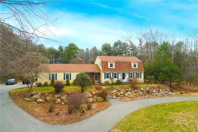 Coventry Single Family Home For Sale: 220 Weaver Hill Rd