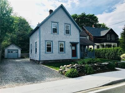 South Kingstown Single Family Home For Sale: 336 High St