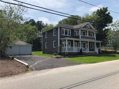 Coventry Single Family Home For Sale: 66 Boston St