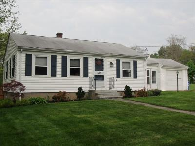 Providence County Single Family Home For Sale: 92 Evergreen St