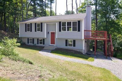 Burrillville Single Family Home For Sale: 25 Pulaski Hill Rd