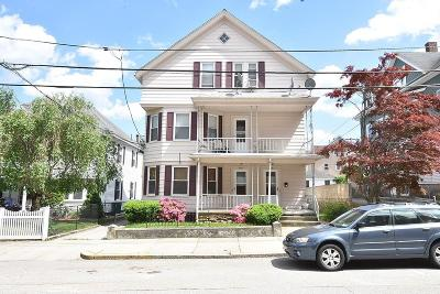 Woonsocket RI Multi Family Home For Sale: $249,900