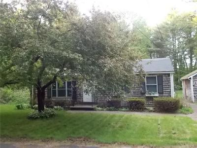 Scituate Single Family Home Act Und Contract: 102 Knight Hill Rd