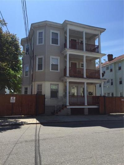 Providence RI Multi Family Home For Sale: $365,000