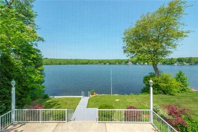 Burrillville Single Family Home For Sale: 11 Waterfront Lane