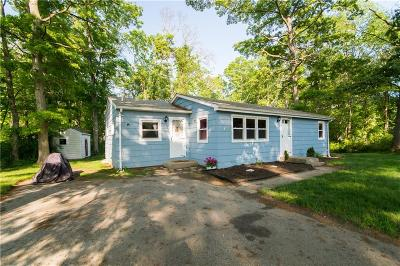 Newport County Single Family Home Act Und Contract: 52 Restful Valley Rd