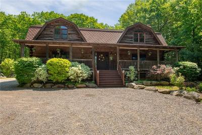 Burrillville Single Family Home For Sale: 295 South Shore Rd