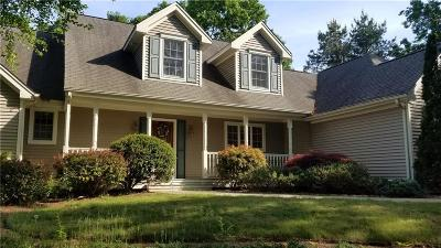 Coventry Single Family Home Act Und Contract: 17 White Oak Ct