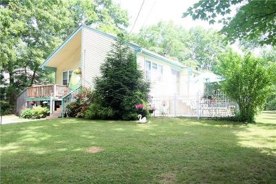 Johnston Single Family Home For Sale: 159 Bishop Hill Rd