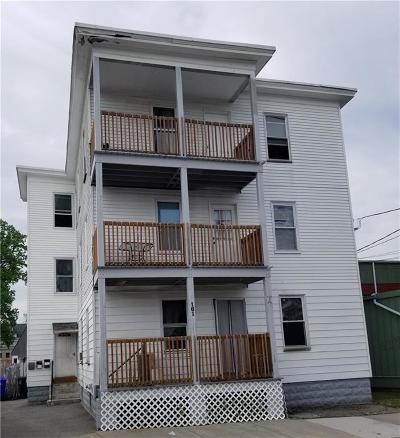 Central Falls Multi Family Home For Sale: 161 Lincoln Av