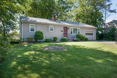 East Greenwich Single Family Home For Sale: 46 Cora St