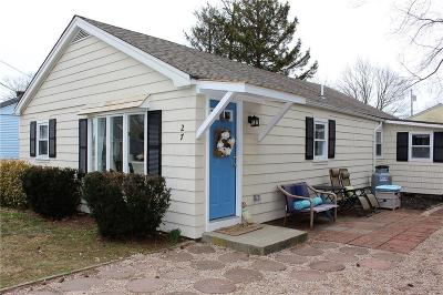 Newport County Single Family Home For Sale: 27 Foxboro Av