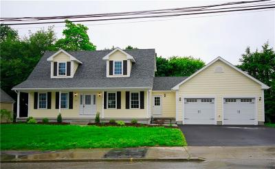 Woonsocket Single Family Home For Sale: 342 Logee St