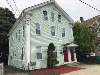 Woonsocket Multi Family Home For Sale: 551 Pond St