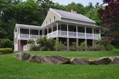 Scituate Single Family Home For Sale: 65 Nipmuc Rd