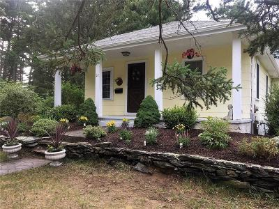 North Kingstown Single Family Home For Sale: 27 Short Rd