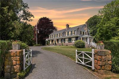 Narragansett Single Family Home For Sale: 445 Ocean Rd