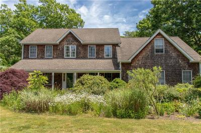 Westerly Single Family Home Act Und Contract: 66 Watch Hill Rd