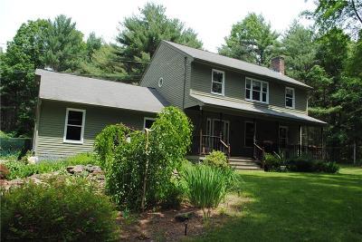 Glocester Single Family Home For Sale: 141 Jackson School House Rd