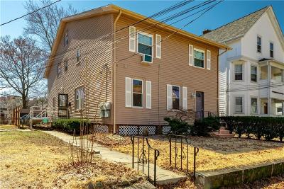 Woonsocket Multi Family Home For Sale: 187 Harrison Av