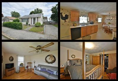 Pawtucket Single Family Home For Sale: 21 Riley St