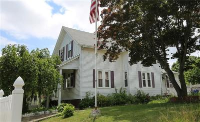 Pawtucket Single Family Home For Sale: 642 Weeden St