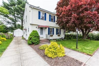 Cranston Single Family Home For Sale: 291 Beckwith St