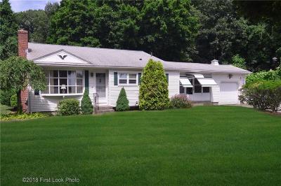 Cranston Single Family Home For Sale: 83 Natick Av