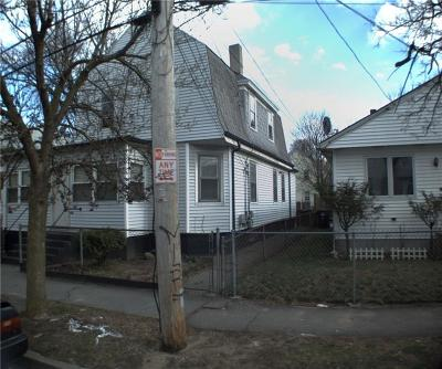 Providence RI Single Family Home Act Und Contract: $125,000