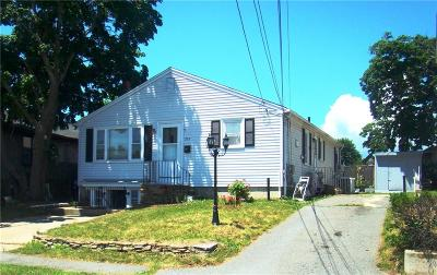 Cranston Single Family Home For Sale: 207 Greenwood St